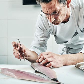 קורס בישול דגים ופירות ים